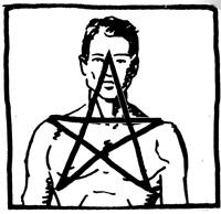pentagramm schlagen