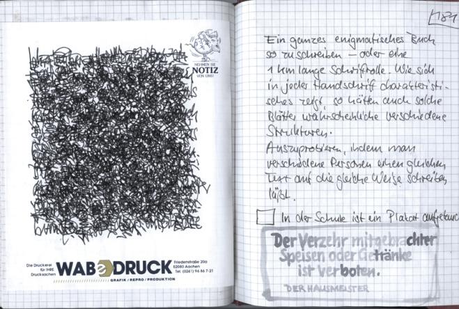 Tagebuch wuttext