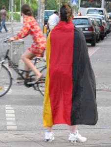 Wo hast du denn die schöne Fahne her? Vom Saufen! - Foto: Trithemius - (größer: Klicken)