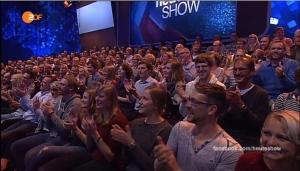 Blödes Schwenkfutter - Quelle: ZDF-Heute-Show