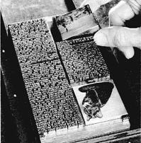 Seitenumbruch im Maschinensatz (aus: Bruckmanns Handbuch der Drucktechnik)