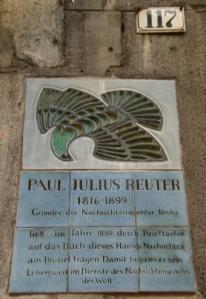 Gedenktafel in Aachen - (Foto: Iris Reinhardt für Wikipedia)