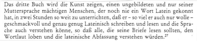 aus : Strasser, Gerhard; Lingua Universalis, Wiesbaden 1988